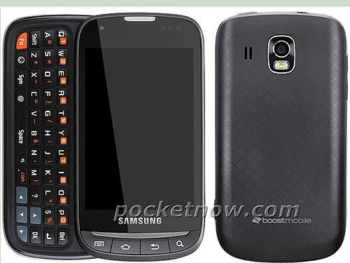 1GHz搭载Android2.3 全键盘三星M930现身