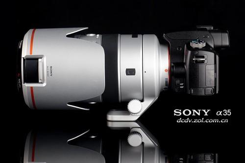 索尼单电 A35配合70-400G大炮外观效果