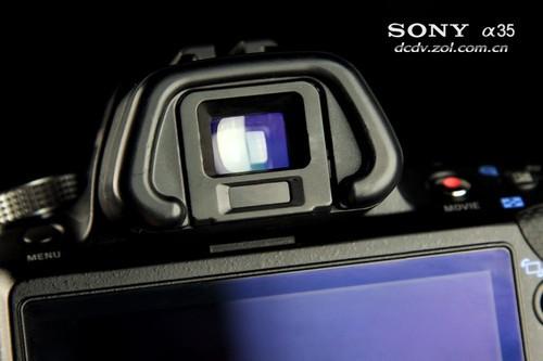 索尼单电 A35 外观细节