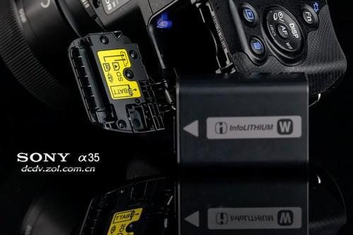 索尼单电 A35 电池及电池舱、卡槽