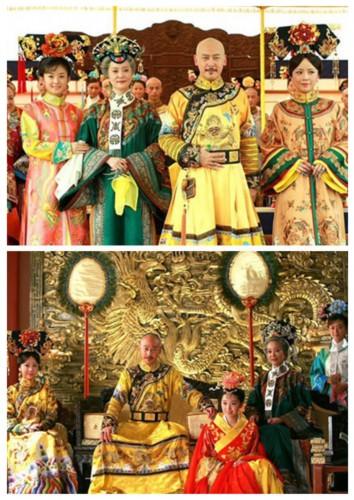 李晟/木有二丫、傻姑、马阿哥、尔康等一众小太监相的王公子弟们的...