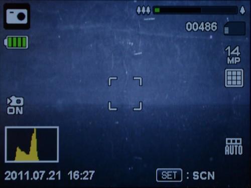 明基S1430拍摄界面