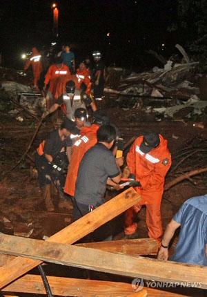 春川发生山体滑坡 9人罹难26人受伤韩联社