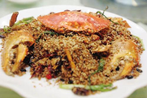 避风塘炒肉蟹