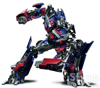 代表人物:擎天柱(Optimus Prime)