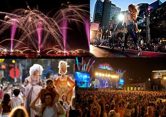 节庆就是生活—蒙特利尔夏季狂欢   对于蒙特利尔来说,一年中的