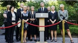 挪威首相宣布成立一个独立的调查委员会。