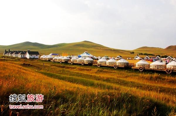 内蒙古坝上草原