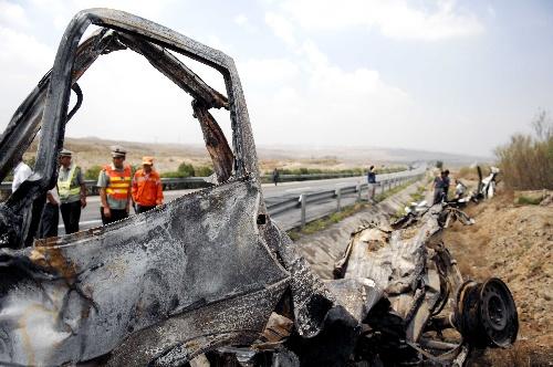 宁夏:京藏高速公路宁夏段发生交通事故 5死2伤
