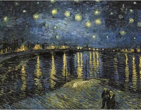 梵高作品《星夜》