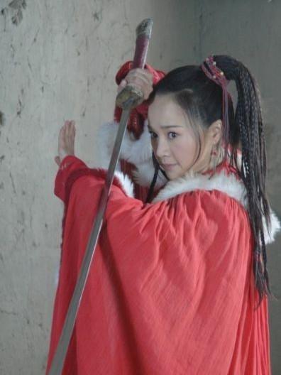 《少林寺传奇》热播 孙颖歆做新时代的功夫女星图片