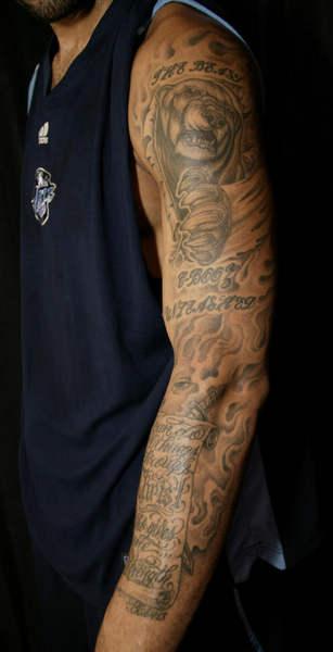 50大纹身 石佛神秘科比虔诚 麦蒂纹圣经含深意