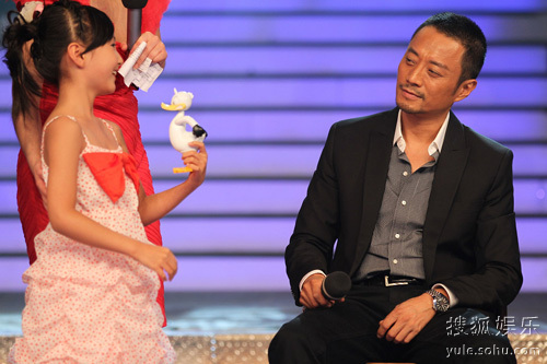 春晚明星牛欣欣与张涵予说了一段往事