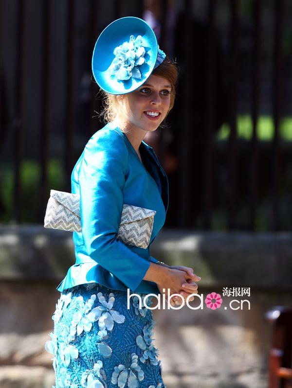 颇具中世纪欧洲贵族气质的礼帽成了婚礼嘉宾们行头中最亮眼的点缀图片