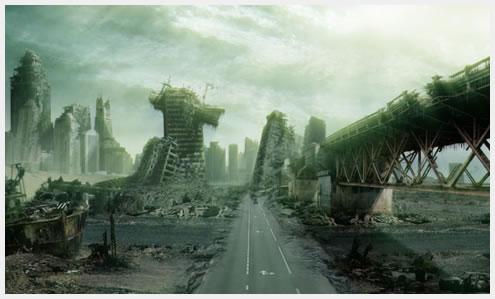 世界末日情景大猜想 模拟世界末日(组图)