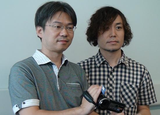 索尼Handycam高清摄像机HDR-PJ10E设计人员