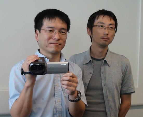 索尼TD10E 3D摄像机设计团队