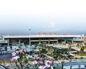 深圳北站华丽