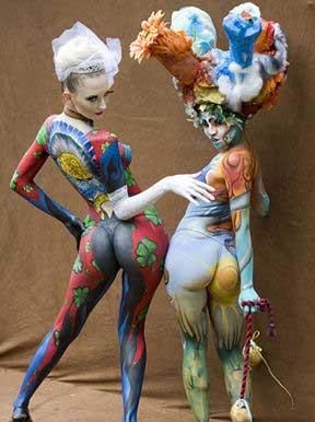 裸性艺术_裸体艺术节