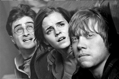 哈利、赫敏、罗恩