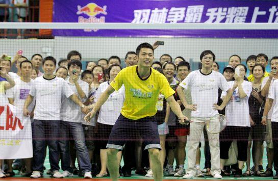 林丹出席上海赛区开赛仪式