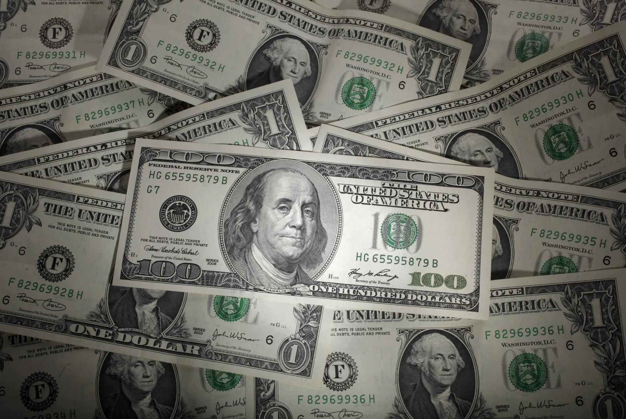 美元-在中国银行现货黄金交易中