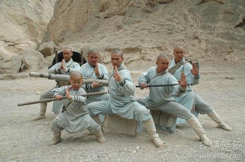 《少林寺传奇》,其第三部《少林寺传奇3大漠英豪》在央视播出期间图片