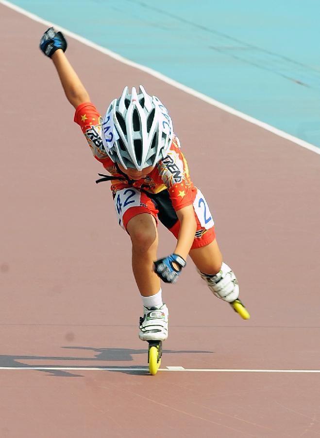 2011年中国(苏州)速度轮滑公开赛开赛[组图]