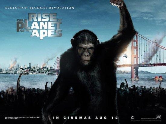 《猿族崛起》海报