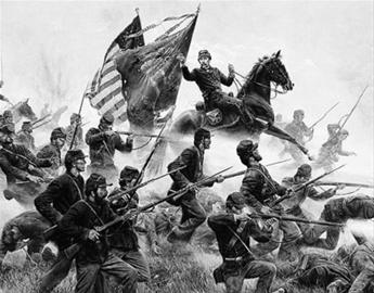 为避免国家分裂美国爆发南北战争(图)