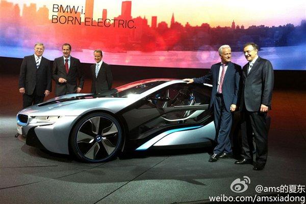 ...是一款基于已经发布的i3车型打造的双座车.   宝马i3概念车