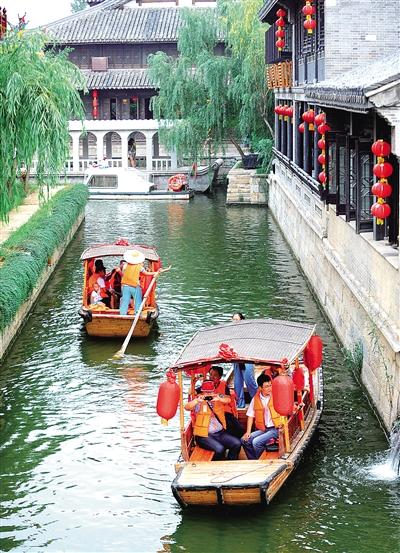 山东省枣庄市台儿庄景区古城(图)鄱阳湖自驾游攻略图片