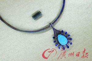 设计精美的珠宝。