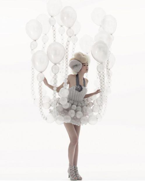 气球礼服梦幻时尚