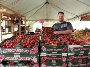 涉事农场将草莓出售给批发商,图为其中的一个批发商。