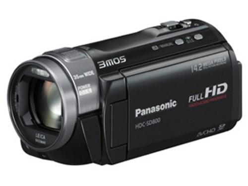 图为:松下数码摄像机SD800