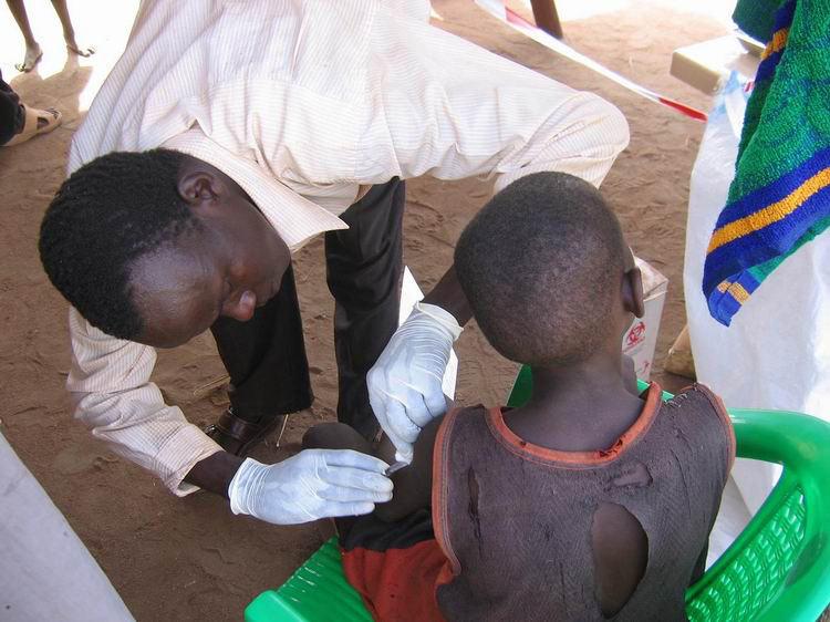 刚果金目前已经出现5088例霍乱病例,其中296名患者已死亡。资料图片