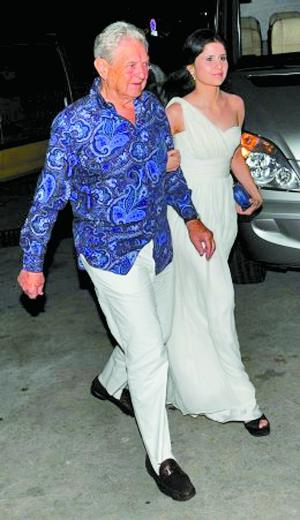 索罗斯和28岁前女友费雷尔