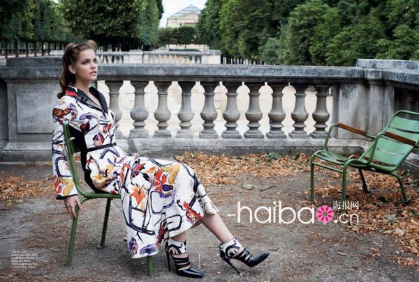 国模babala大尺度私拍_娃娃脸模特新人芭芭拉·帕尔文(barbara palvin)最新广告+杂志大片