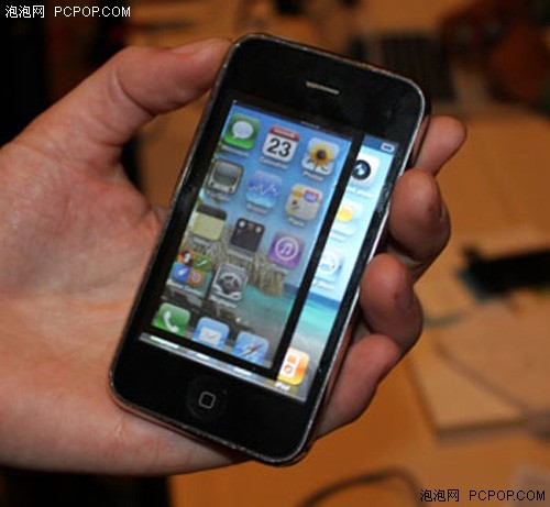 创意 手机 手机配件/贴在手机屏幕上的样子