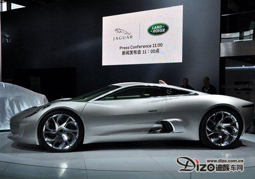 曝出手绘图 捷豹将法兰克福首发c-x16概念车