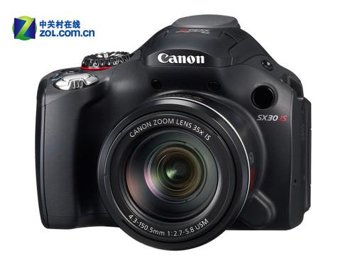 图为:佳能PowerShot SX30 IS数码相机