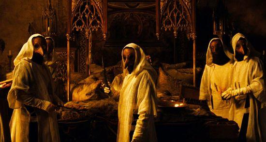 中世纪医生面具