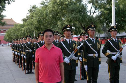 深装置,北边京――杭电国旗养保卫队2011暑期即兴实个