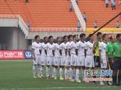 图文:[中超]陕西VS天津 赛前陕西队合影