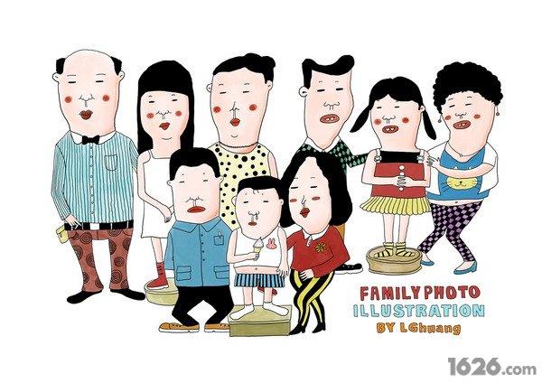 《那年我们都是少先队》童年系列插画by lghuang(组图