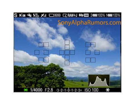 对焦点未增加 索尼A77电子取景器已曝光