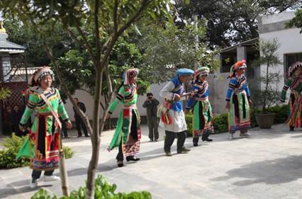 傈僳族的舞蹈——高黎贡原著民族