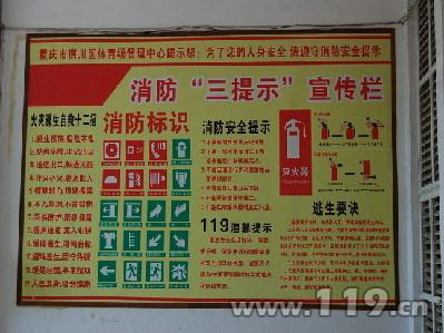 消防安全宣传海报矢量图