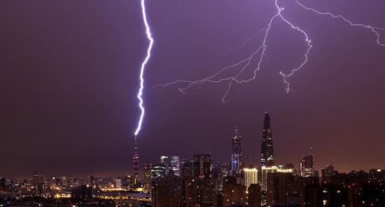 """上海市最近天气_上海被""""雷""""五天 气象局说这很正常-搜狐上海"""